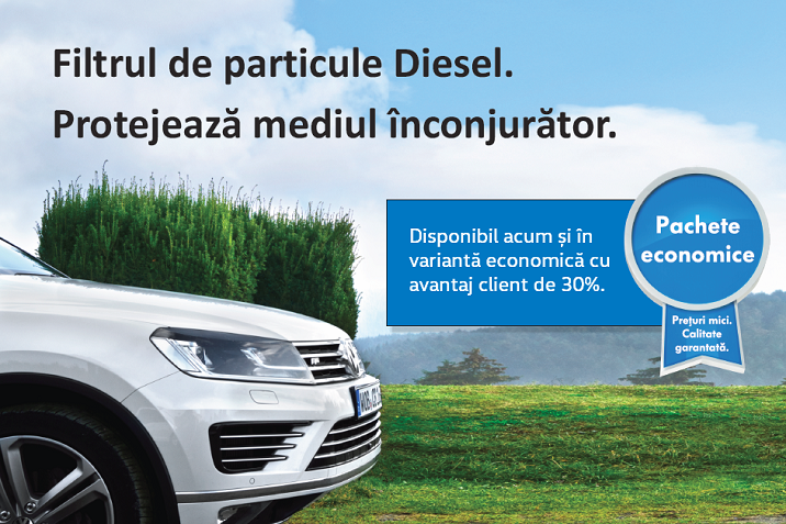 filtru de particule diesel
